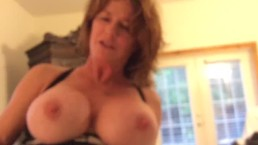 She Rides Him, Tells Greats Story, And Sucks Out The Cum