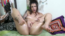OIL My Big ASS And Fucking My Pussy – Dread Hot